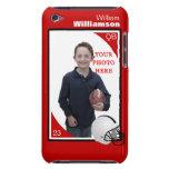 Caja personalizada del tacto de iPod del fútbol iPod Touch Case-Mate Protector