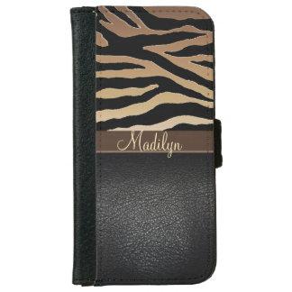 Caja personalizada del teléfono de la cartera de carcasa de iPhone 6