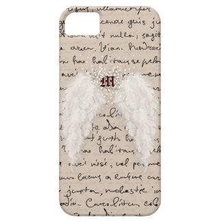 Caja personalizada del teléfono del ala del ángel iPhone 5 carcasa