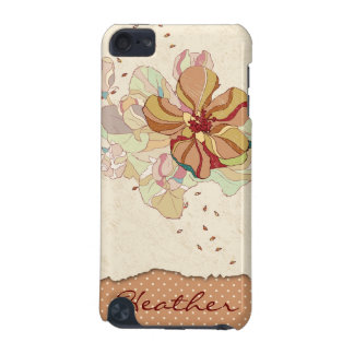 Caja personalizada floral abstracta del tacto de i
