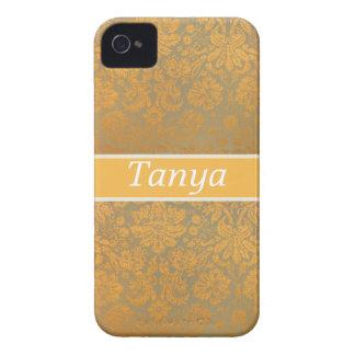 Caja personalizada floral de Blackberry del iPhone 4 Case-Mate Cárcasas