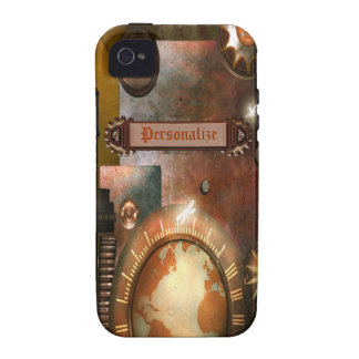 Caja personalizada hermosa del iPhone 4 de Steampu Vibe iPhone 4 Carcasas