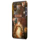 Caja personalizada hermosa del tacto de Steampunk  Case-Mate iPod Touch Cobertura
