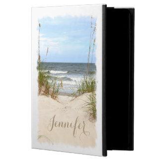 Caja personalizada playa del aire 2 del iPad