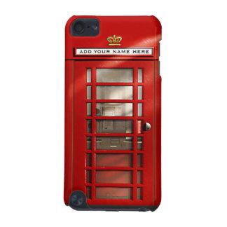 Caja personalizada roja británica de iPod de la ca Funda Para iPod Touch 5G