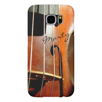 Caja personalizada violín de la galaxia S6 de la Funda Samsung Galaxy S6