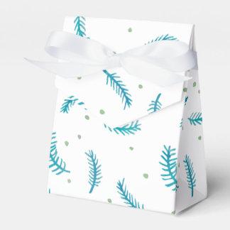 Caja pintada del favor de la tienda de los caja para regalos de fiestas