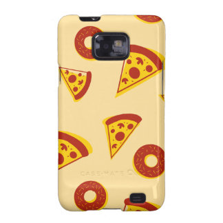 caja Pizza-temática de la galaxia S2 de Samsung Galaxy S2 Funda