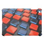 Caja plástica coloreada del iPad de los ladrillos