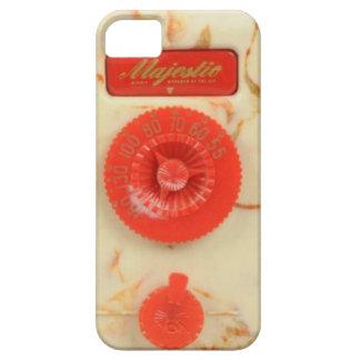 Caja plástica roja del teléfono de dial de la funda para iPhone SE/5/5s