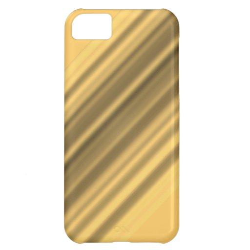 Caja plateada oro del iPhone 5 del estilo