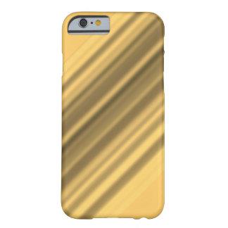 Caja plateada oro del iPhone 6 del estilo Funda De iPhone 6 Barely There