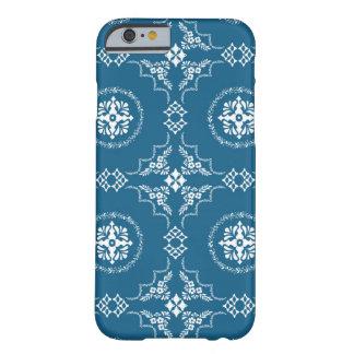 Caja popular azul del teléfono del modelo de la funda para iPhone 6 barely there