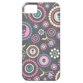 Caja popular gris y rosada del teléfono del cráneo iPhone 5 Case-Mate cárcasa