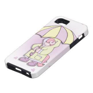 Caja preciosa del teléfono del potro iPhone 5 Case-Mate protectores