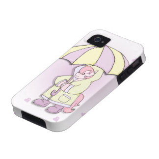 Caja preciosa del teléfono del potro iPhone 4 fundas