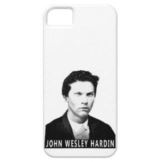 CAJA PROSCRITA DE HARDIN DE JOHN WESLEY iPhone 5 FUNDAS