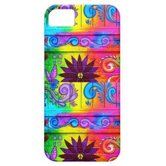 caja psicodélica maravillosa del teléfono del iPhone 5 fundas