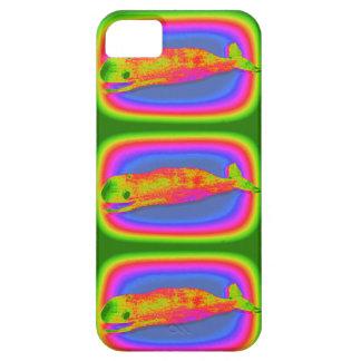 caja psicodélica sonriente del teléfono de las iPhone 5 carcasa