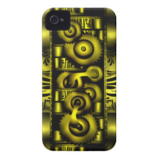 Caja punky de la casamata de Iphone 4/4S del vapor iPhone 4 Fundas