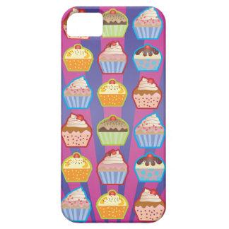 Caja Purply del iPhone 5 de las rayas azules de Funda Para iPhone SE/5/5s