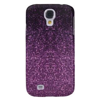 Caja púrpura 2 de la mota del punto funda para galaxy s4