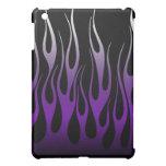 Caja púrpura 3 de la mota de la llama