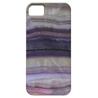 Caja púrpura acodada del iPhone iPhone 5 Fundas