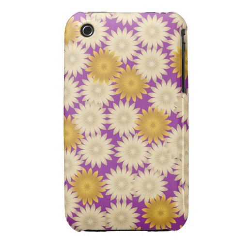 Caja púrpura amarilla del iPhone 3G/3Gs de las iPhone 3 Cobreturas