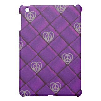 Caja púrpura atractiva del iPad de la estrella del