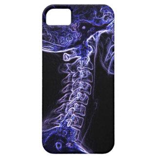 Caja púrpura/azul del iPhone 5 de la C-espina iPhone 5 Fundas