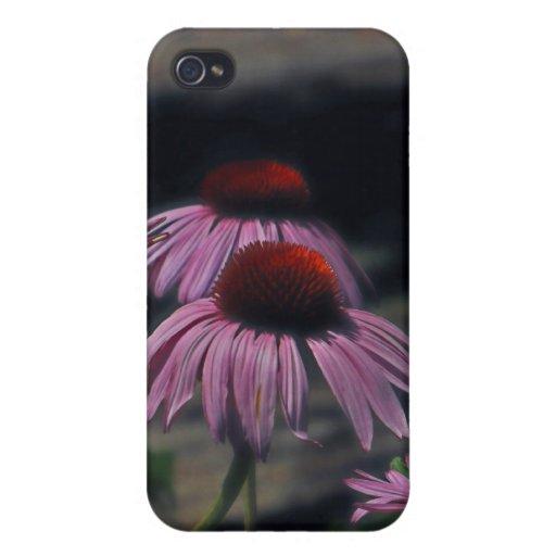 Caja púrpura bonita del iPhone de las señoras iPhone 4 Carcasa