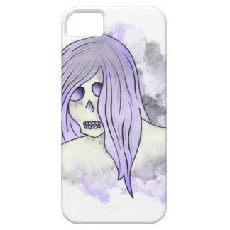 Caja púrpura de Iphone del cráneo iPhone 5 Carcasa