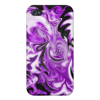 ¡Caja púrpura de IPhone! iPhone 4/4S Funda