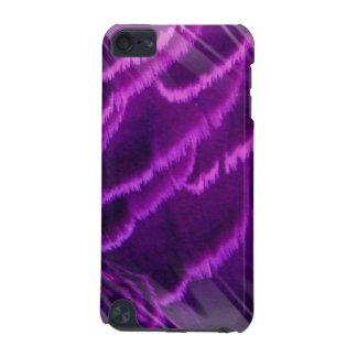 Caja púrpura de iTouch de la pluma