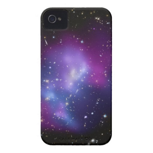 Caja púrpura de la casamata del racimo de la iPhone 4 Case-Mate carcasas