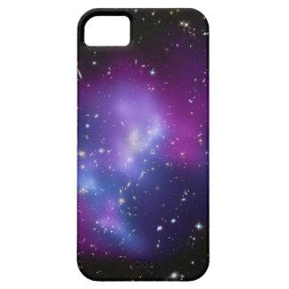 Caja púrpura de la casamata del racimo de la galax iPhone 5 protector