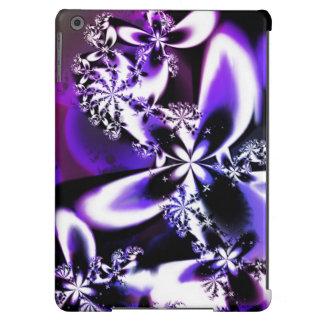 Caja púrpura de la flor del fractal para el aire carcasa iPad air