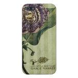 caja púrpura de la flor iPhone5 iPhone 5 Carcasa