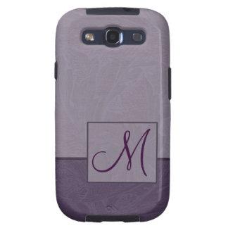 Caja púrpura de la galaxia S3 de Samsung del monog Galaxy SIII Cobertura