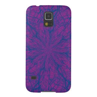 Caja púrpura de la galaxia S5 de Samsung del Carcasa De Galaxy S5