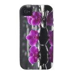 Caja púrpura de la huerta IPhone4 Vibe iPhone 4 Carcasa