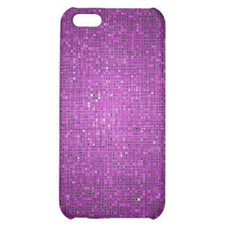 Caja púrpura de la mota del iPhone 4 4s del disco