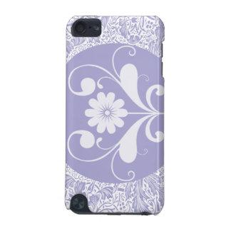 Caja púrpura de la mota del tacto de iPod Funda Para iPod Touch 5G