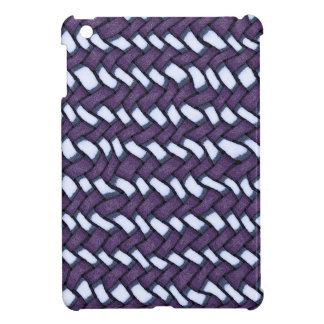 Caja púrpura de la puntada