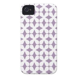 Caja púrpura de la rapsodia iPhone4S del modelo de Case-Mate iPhone 4 Protectores