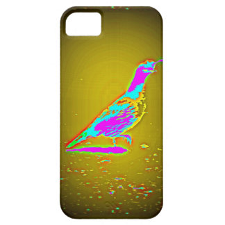 caja púrpura de las codornices iPhone 5 fundas