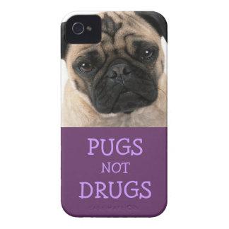 Caja púrpura de las drogas de los barros amasados  iPhone 4 cobertura