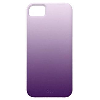 Caja púrpura de Ombre Iphone iPhone 5 Protectores