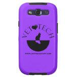 caja púrpura de Samsung de la tecnología del veter Galaxy SIII Cárcasas
